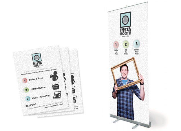 InstaBooth Identity, Print & Website