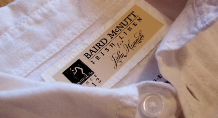 Irish Linen Clothing Labels